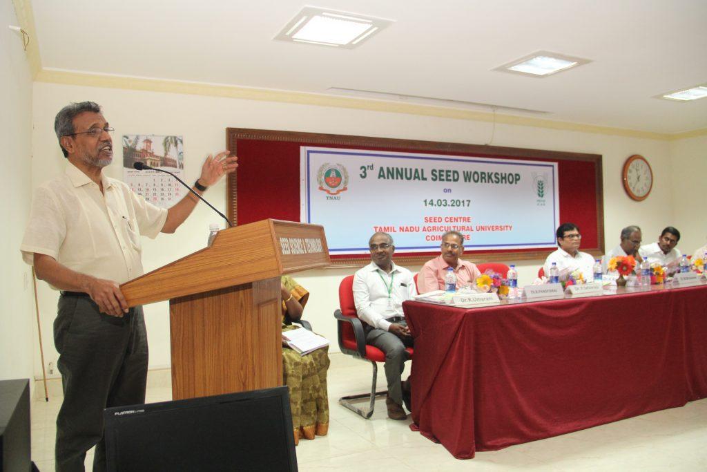Dr. K. Ramasamy, Vice-Chancellor, TNAU, Coimbatore (2)