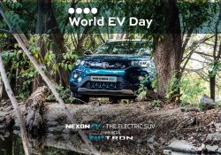 TATA NEXON celebrating EV day